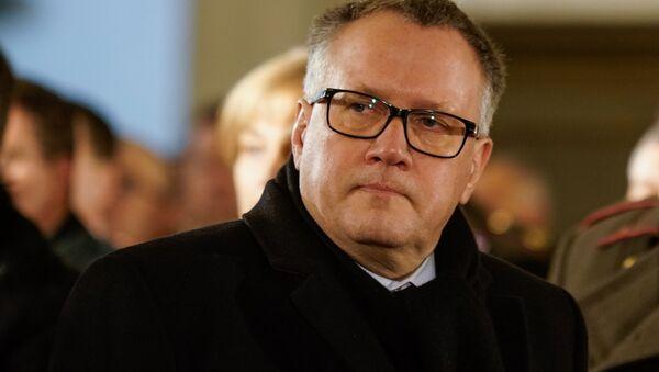 Экс-министр экономики Арвилс Ашераденс - Sputnik Latvija