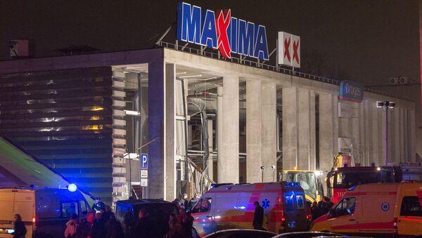 Обрушение крыши торгового центра в Риге, 21 ноября 2013 - Sputnik Latvija
