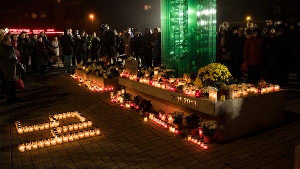 Траурное мероприятие в память жертв Золитудской трагедии - Sputnik Латвия