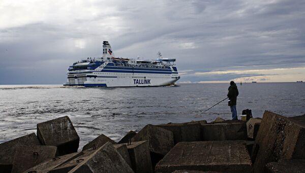 Пассажирский лайнер Таллинк - Sputnik Латвия