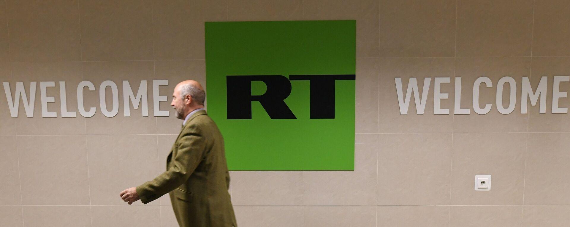 Офис телеканала RT в Москве - Sputnik Латвия, 1920, 28.07.2021