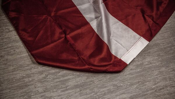 Латвийский флаг - Sputnik Латвия