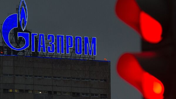 Логотип компании Газпром - Sputnik Latvija