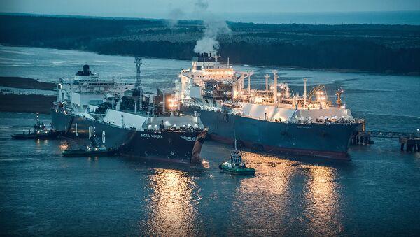 Поставка природного газа - Sputnik Латвия