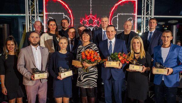 Лауреаты ежегодной премии Латвийского баскетбольного союза - Sputnik Латвия