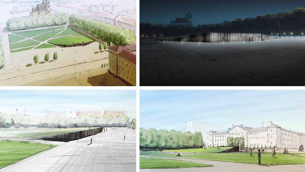 Проект памятника на Лукишской площади - Sputnik Latvija