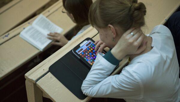 Обучение студентов в Омской медицинской академии - Sputnik Латвия