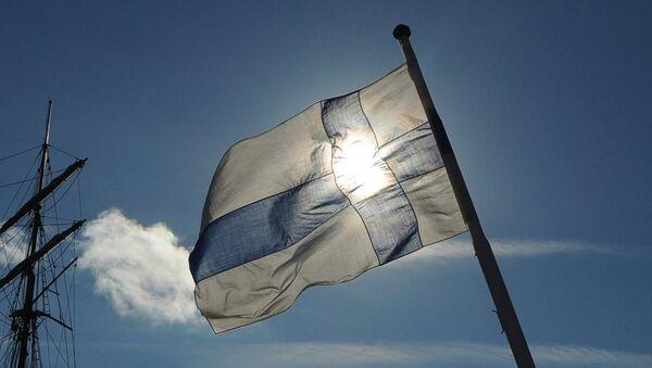 Флаг Финляндии - Sputnik Латвия