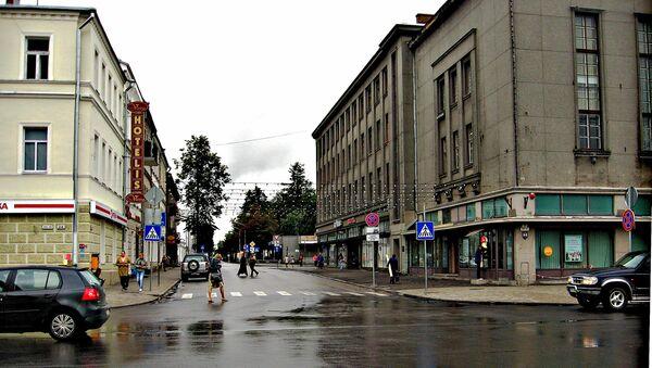 Улица в городе Даугавпилс, Латвия - Sputnik Latvija