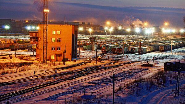 Железнодорожное депо в Даугавпилсе - Sputnik Latvija