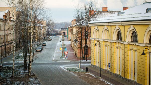 Улица в городе Даугавпилс, Латвия - Sputnik Латвия