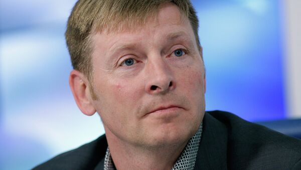 Президент Федерации бобслея России Александр Зубков - Sputnik Латвия