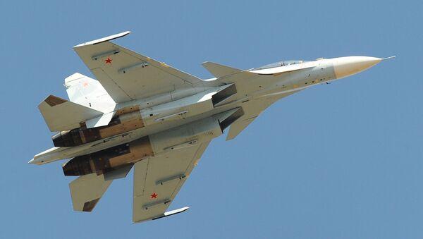 Самолет Су-30СМ - Sputnik Latvija