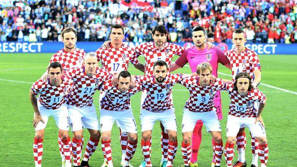 Horvātijas futbola izlase - Sputnik Latvija