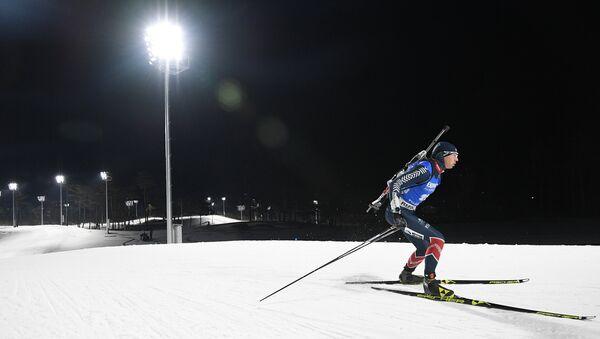 Андрей Расторгуев (Латвия) на дистанции спринта - Sputnik Латвия