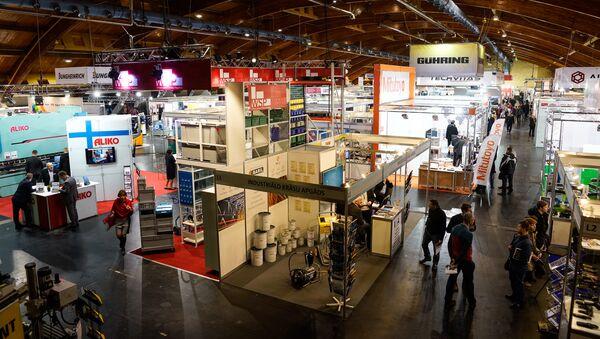 Международная выставка машиностроения, металлообработки и автоматизации Tech Industry 2017 - Sputnik Латвия