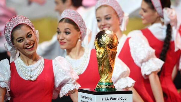 Официальная жеребьевка чемпионата мира по футболу 2018 - Sputnik Latvija