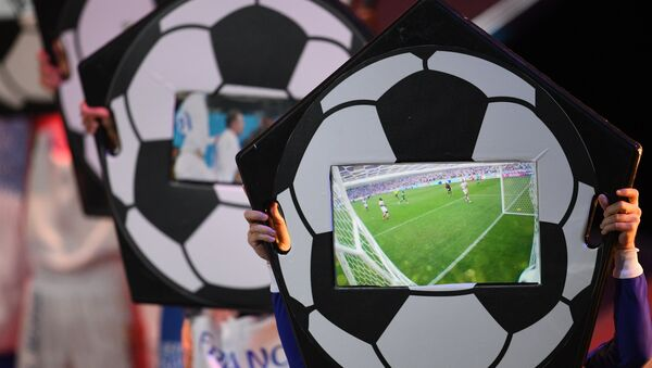 Официальная жеребьевка чемпионата мира по футболу 2018 - Sputnik Латвия