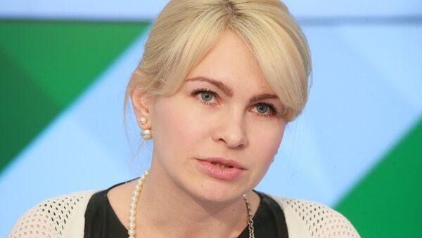 Президент Федерации санного спорта России Наталия Гарт, архивное фото - Sputnik Латвия