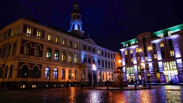 Здание Рижской думы на Ратушной площади - Sputnik Латвия