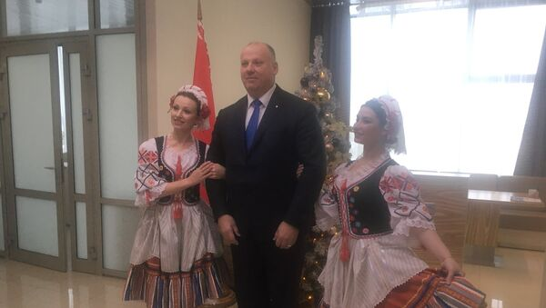 Первый визит Раймондса Бергманиса в Белоруссию - Sputnik Латвия