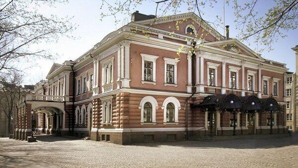 Бывший русский гарнизонный театр (ныне - Александровский театр) в Хельсинки - Sputnik Латвия