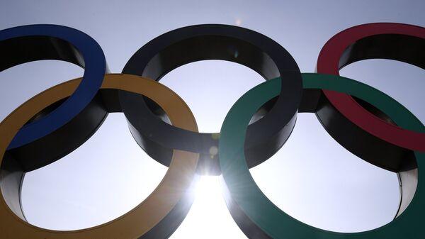 Олимпийский символ, архивное фото - Sputnik Латвия