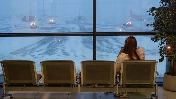 Зал ожидания в аэропорту Шереметьево - Sputnik Латвия