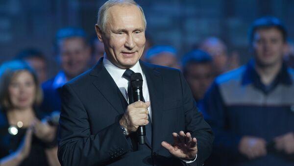 Рабочая поездка президента РФ В. Путина в Нижний Новгород - Sputnik Латвия