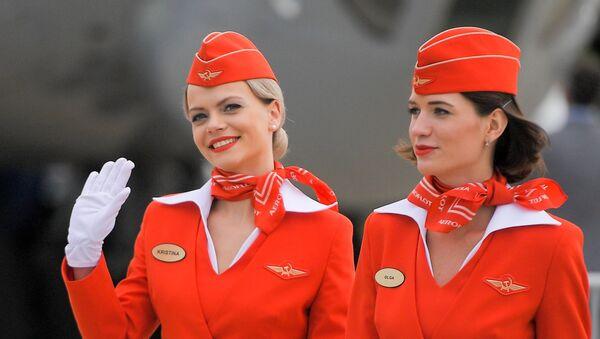 Стюардессы авиакомпании Аэрофлот - Sputnik Latvija