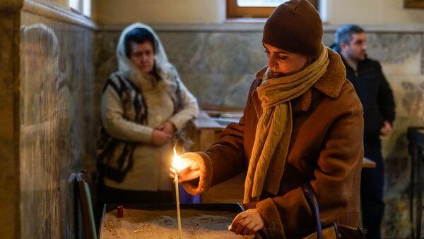 Армянская церковь Святого Григория Просветителя в Риге - Sputnik Латвия