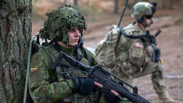 Военные учения в Литве - Sputnik Латвия