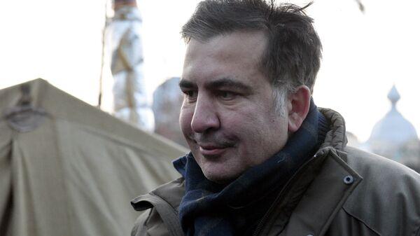 Бывший губернатор Одесской области Михаил Саакашвили. 6 декабря 2017 - Sputnik Latvija