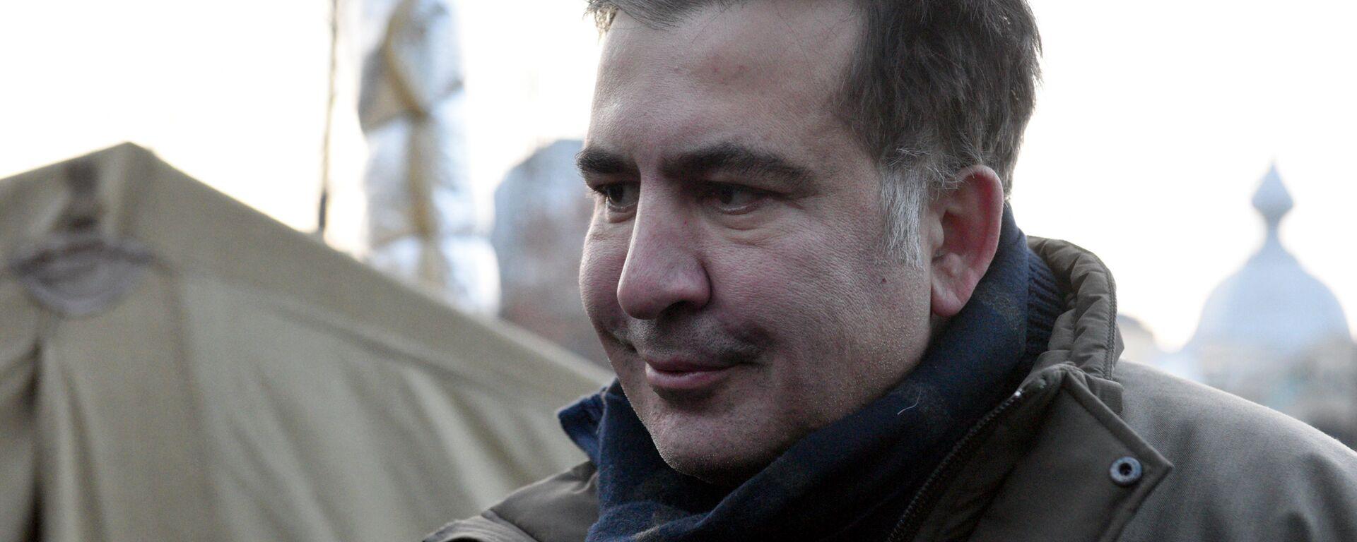 Бывший губернатор Одесской области Михаил Саакашвили. 6 декабря 2017 - Sputnik Latvija, 1920, 07.08.2020