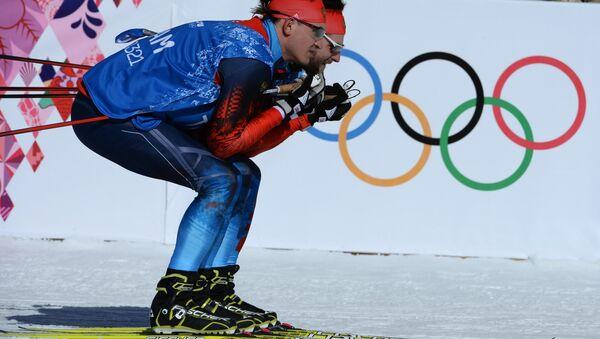 Российские лыжники - Sputnik Латвия