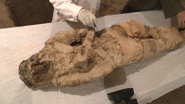 В египетском Луксоре нашли мумию - Sputnik Латвия