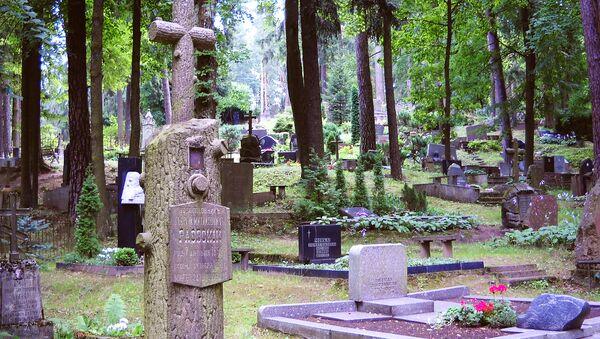 Антакальнисское кладбище в Вильнюсе - Sputnik Латвия