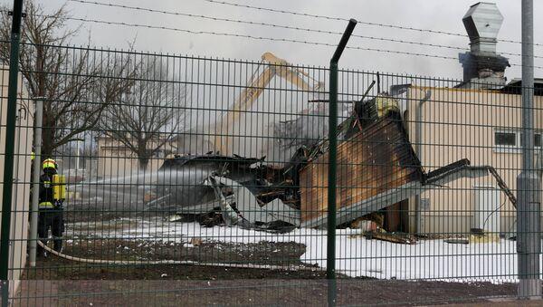 Взрыв на территории газового хаба в австрийском Баумгартене - Sputnik Латвия