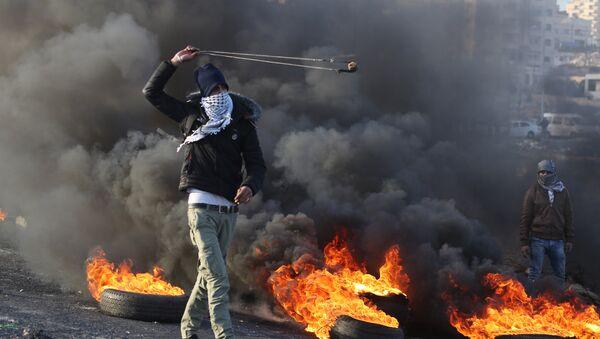 Ситуация на границе Палестины и Израиля - Sputnik Латвия