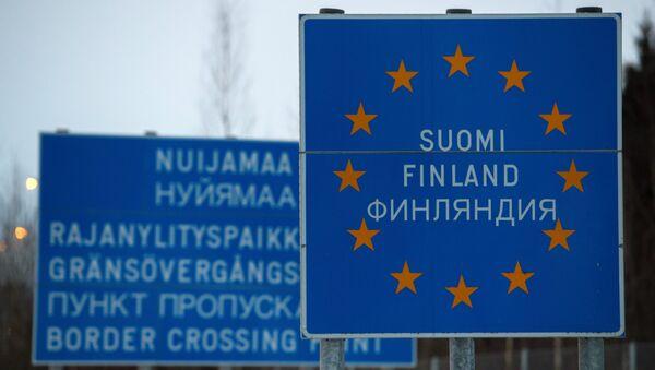 Граница России и Финляндии - Sputnik Латвия