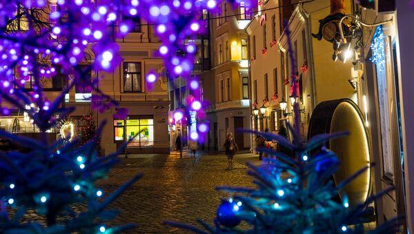 Улица Мейстару в Старой Риге - Sputnik Латвия