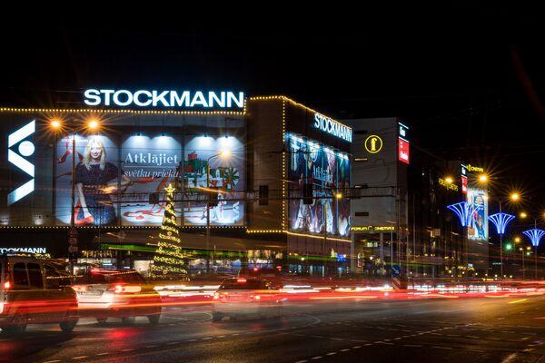 Улица Сатеклес и универмаг Stockmann - Sputnik Latvija