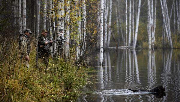 Охотники, архивное фото - Sputnik Латвия