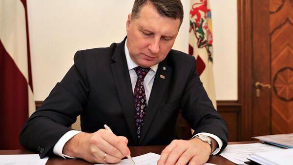 Latvijas prezidents Raimonds Vējonis - Sputnik Latvija