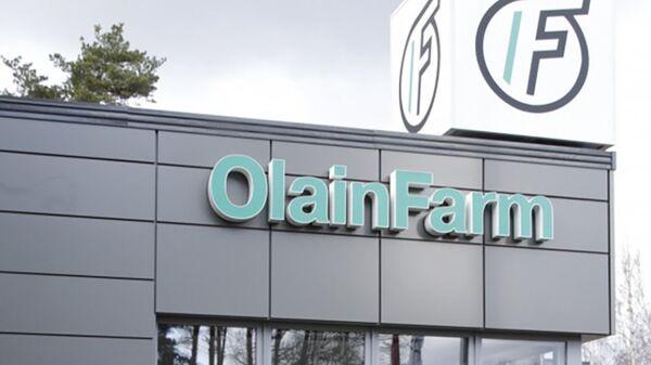 Вывеска компании Olainfarm - Sputnik Латвия