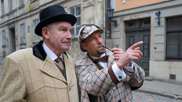 День рождения Шерлока Холмса в Риге - Sputnik Латвия