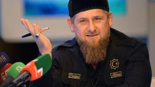 Глава Чечни Рамзан Кадыров - Sputnik Latvija