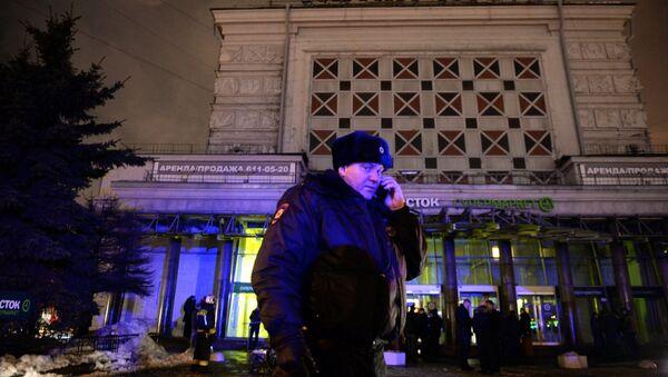 Взрыв в магазине Перекресток в Санкт-Петербурге - Sputnik Латвия