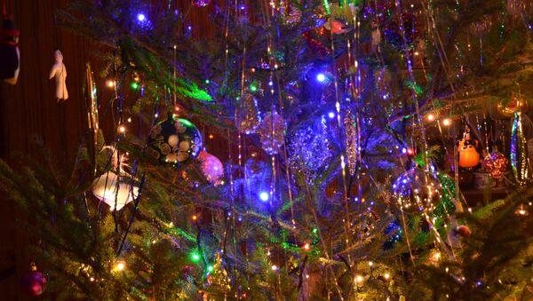 Новогодняя елка - Sputnik Латвия