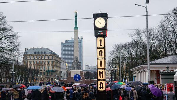 Отреставрированные часы Laima - Sputnik Латвия